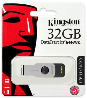 Накопитель KINGSTON DT SWIVL 32GB USB 3.0 4