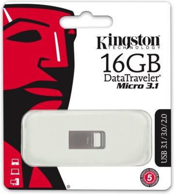 Накопитель KINGSTON DT Micro 16GB USB 3.1 4