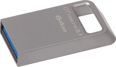 Накопитель KINGSTON DT Micro 64GB USB 3.1 3