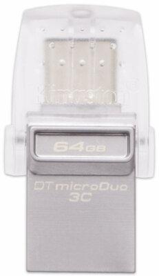 Накопитель KINGSTON DT MicroDuo 3С 64GB Type-C USB 3.0 1