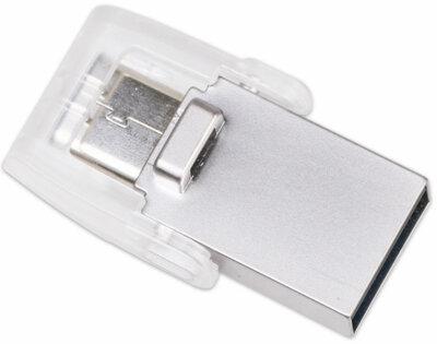 Накопитель KINGSTON DT MicroDuo 3С 64GB Type-C USB 3.0 5