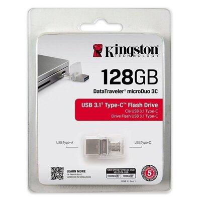 Накопитель KINGSTON DT MicroDuo 3С 128GB Type-C USB 3.0 6