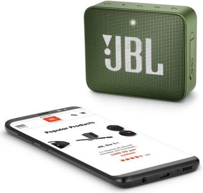 Акустична система JBL GO 2 Green 6