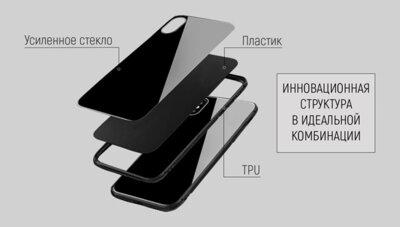Чохол ColorWay Samsung Galaxy A9 Glass Black 4