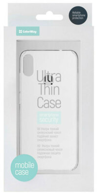 Чехол ColorWay для Xiaomi Redmi Note 7 PC Case Transparent 3