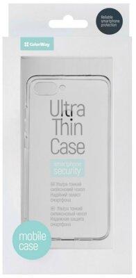 Чохол ColorWay для Xiaomi Mi 8 Lite TPU Case Transparent 3