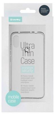 Чохол ColorWay для Xiaomi Redmi Note 6 Pro TPU Case Transparent 3