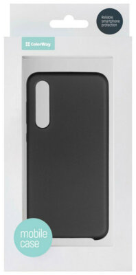 Чехол ColorWay для Xiaomi Mi 9 SE Liquid Silicone Black 5