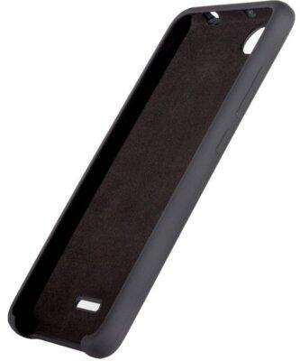 Чехол ColorWay для Xiaomi Redmi 6A Liquid Silicone Black 3