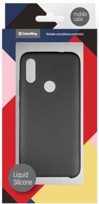 Чохол ColorWay для Xiaomi Redmi 7 Liquid Silicone Black 5