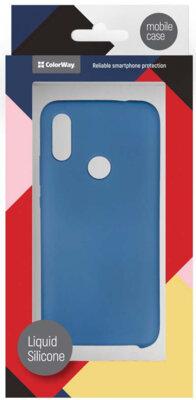 Чехол ColorWay для Xiaomi Redmi 7 Liquid Silicone Blue 5