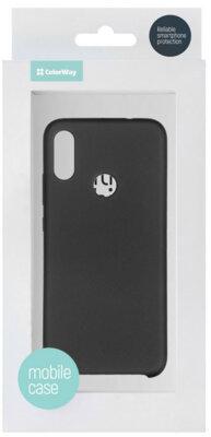 Чохол ColorWay для Xiaomi Redmi Note 7 Liquid Silicone Black 5