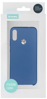 Чохол ColorWay для Xiaomi Redmi Note 7 Liquid Silicone Blue 5