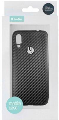 Чохол ColorWay для Xiaomi Redmi 7 TPU Сarbon Black 3