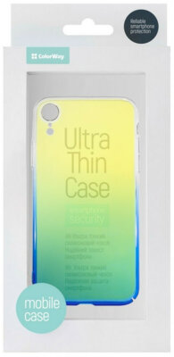 Чехол ColorWay для Apple iPhone XR Gradient blue 3