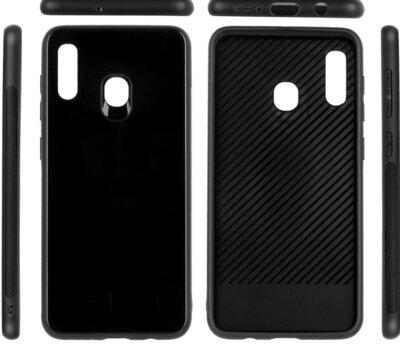 Чехол ColorWay для Samsung Galaxy A30 A305 Glass black 3