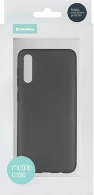 Чохол ColorWay для Samsung Galaxy A50 A505 TPU Matt black 3