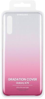 Чохол SAMSUNG для Galaxy A70 (A705F) Gradation Cover Pink (EF-AA705CPEGRU) 5