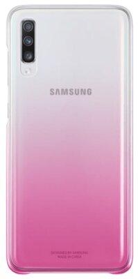 Чохол SAMSUNG для Galaxy A70 (A705F) Gradation Cover Pink (EF-AA705CPEGRU) 1