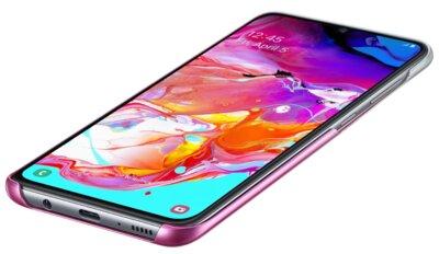 Чохол SAMSUNG для Galaxy A70 (A705F) Gradation Cover Pink (EF-AA705CPEGRU) 4