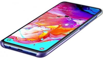 Чехол SAMSUNG для Galaxy A70 (A705F) Gradation Cover Violet (EF-AA705CVEGRU) 4