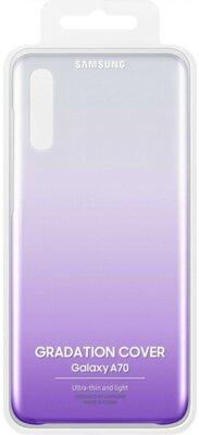 Чехол SAMSUNG для Galaxy A70 (A705F) Gradation Cover Violet (EF-AA705CVEGRU) 5