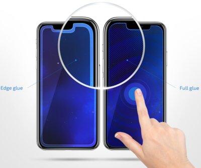 Защитное стекло 2E 2.5D Black border FG для Huawei P Smart 2019 (2E-TGHW-PS19-25D-BB) 5