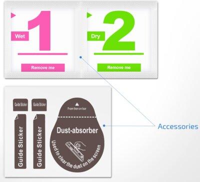 Защитное стекло 2E 2.5D Black border FG для Huawei P Smart 2019 (2E-TGHW-PS19-25D-BB) 6