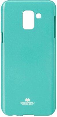Чехол Goospery для Galaxy J6 2018 (J600) Jelly Case Mint (8809610546241) 1