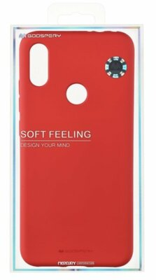 Чехол Goospery для Huawei Y6 2019 SF JELLY Red (8809661785019) 3
