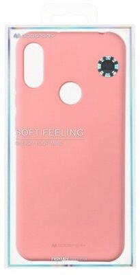 Чохол Goospery для Huawei Y6 2019 SF JELLY Pink (8809661785064) 3