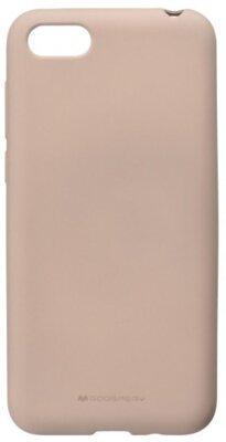 Чохол Goospery для Huawei Y5 2018 SF Jelly Pink Sand (8809621260792) 1