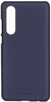 Чохол Goospery для Huawei P30 SF JELLY Midnight Blue (8809653420300) 1