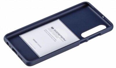 Чохол Goospery для Huawei P30 SF JELLY Midnight Blue (8809653420300) 2