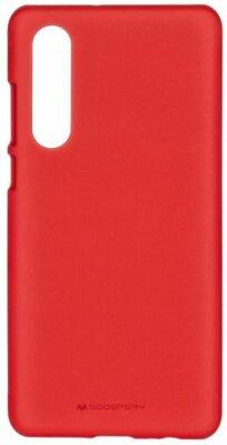 Чохол Goospery для Huawei P30 SF JELLY Red (8809653420270) 1