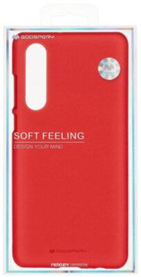 Чохол Goospery для Huawei P30 SF JELLY Red (8809653420270) 3