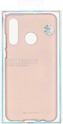 Чохол Goospery для Huawei P30 Lite SF JELLY Pink Sand (8809661786788) 3
