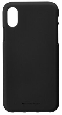 Чехол Goospery для Apple iPhone XS Max SF Jelly Black (8809621286600) 1