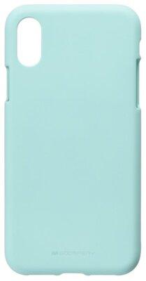 Чехол Goospery для Apple iPhone XS Max SF Jelly Mint (8809621286648) 1