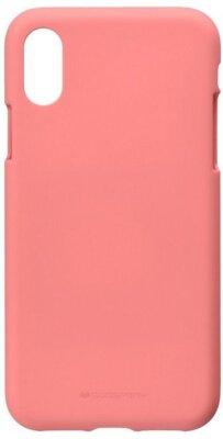 Чохол Goospery для Apple iPhone XS Max SF Jelly Pink (8809621286679) 1