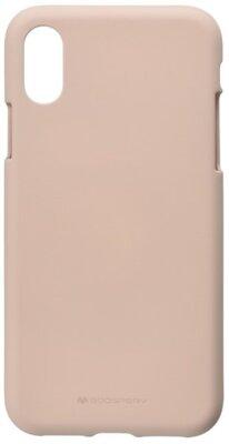 Чохол Goospery для Apple iPhone XS Max SF Jelly Pink Sand (8809621286631) 1