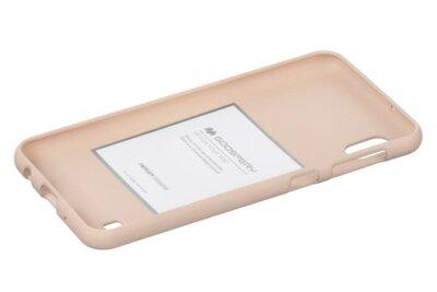 Чехол Goospery для Galaxy A10 (A105) SF JELLY Pink Sand (8809661786337) 2