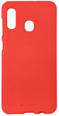 Чехол Goospery для Galaxy A30 (A305) SF JELLY Red (8809661786412) 1