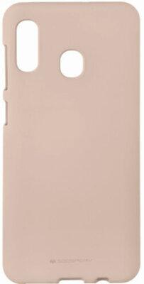 Чехол Goospery для Galaxy A30 (A305) SF JELLY Pink Sand (8809661786429) 1