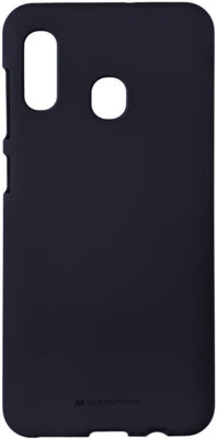 Чохол Goospery для Galaxy A30 (A305) SF JELLY Midnight Blue (8809661786443) 1