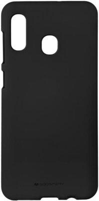 Чохол Goospery для Galaxy A30 (A305) SF JELLY Black (8809661786399) 1