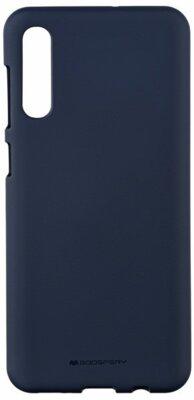 Чохол Goospery для Galaxy A50 (A505) SF JELLY Midnight Blue (8809661786627) 1