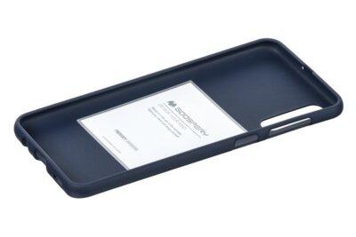 Чохол Goospery для Galaxy A50 (A505) SF JELLY Midnight Blue (8809661786627) 2