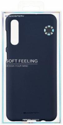 Чохол Goospery для Galaxy A50 (A505) SF JELLY Midnight Blue (8809661786627) 3