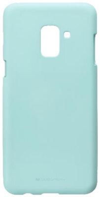 Чохол Goospery для Galaxy A8 2018 (A530) SF Jelly Mint (8809550413467) 1